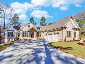 Custom Lake House  | North Georgia Homes Gallery