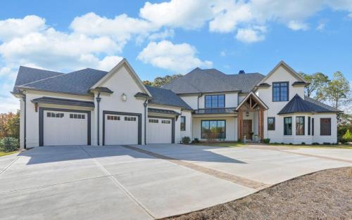 Custom 2-Story Built White-Brick Home | New Home Builder Gainesville