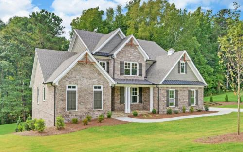 Traditional in The Retreat Exterior (Custom Home Builder Gainesville Georgia) (7)