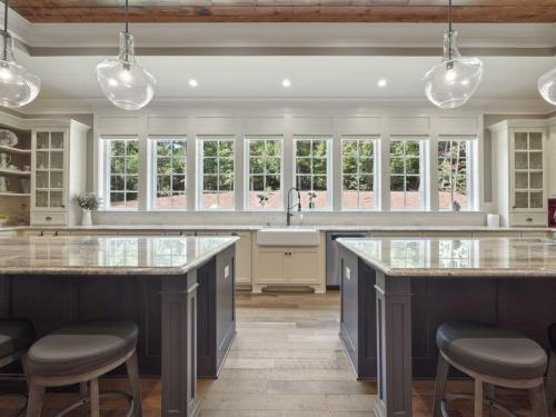 Spacious Kitchens | Custom Cabinetry  | Open Concept Floor Plans
