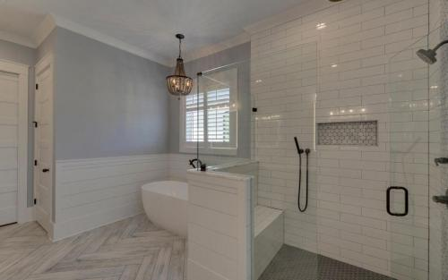 Custom Home Flowery Branch Master Bath (Northeast Georgia Home Builder) (5)