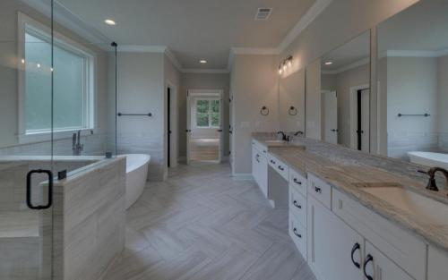 Traditional in The Retreat Bath (Custom Home Builder Gainesville Georgia)