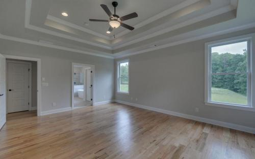 Traditional in The Retreat Master Bedroom (Custom Home Builder Gainesville Georgia) (2